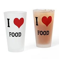 FOOD Drinking Glass