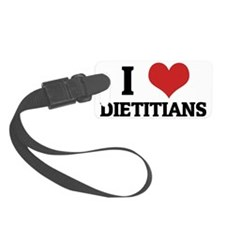 DIETITIANS Luggage Tag