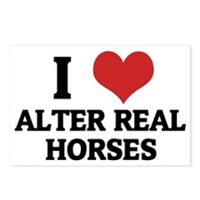 ALTER REAL HORSES Postcards (Package of 8)