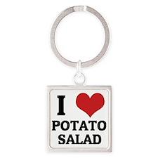 POTATO SALAD Square Keychain