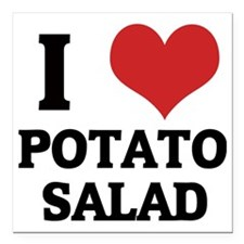 "POTATO SALAD Square Car Magnet 3"" x 3"""