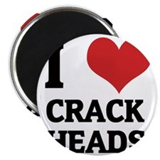 CRACK HEADS Magnet