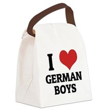 GERMAN BOYS Canvas Lunch Bag