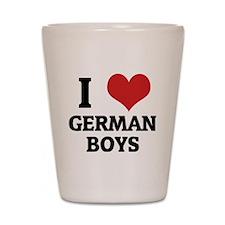 GERMAN BOYS Shot Glass