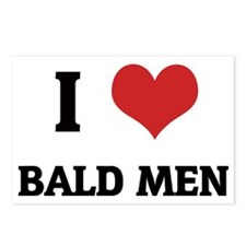 BALD MEN_1 Postcards (Package of 8)