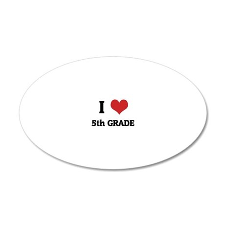 5th GRADE 20x12 Oval Wall Decal