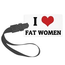 FAT WOMEN Luggage Tag