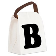 LetterB Canvas Lunch Bag