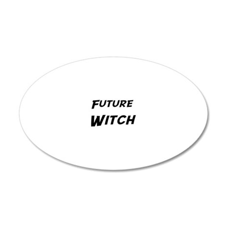 Witch 20x12 Oval Wall Decal