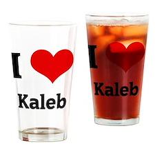 ilovekaleb1 Drinking Glass