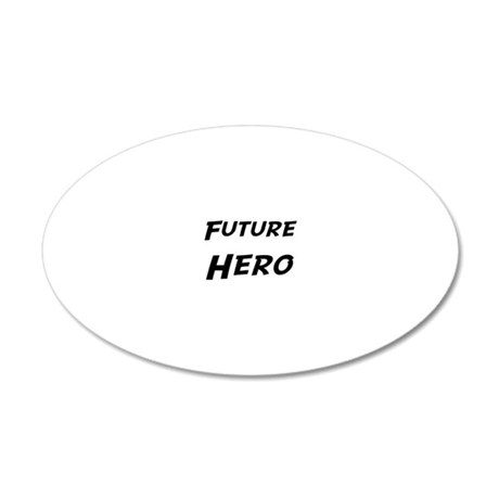 Hero 20x12 Oval Wall Decal
