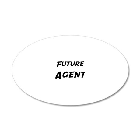 Agent 20x12 Oval Wall Decal
