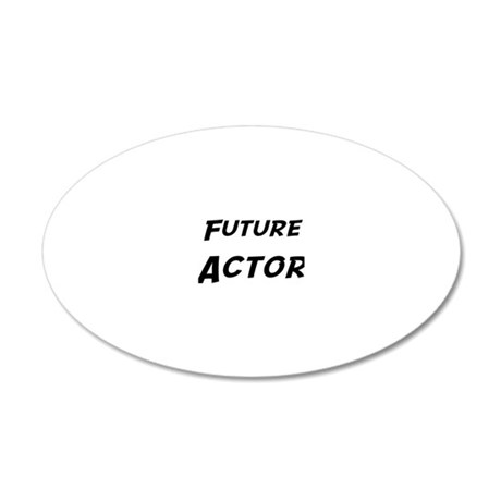 Actor 20x12 Oval Wall Decal