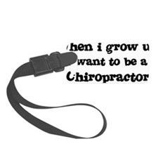 Chiropractor Luggage Tag