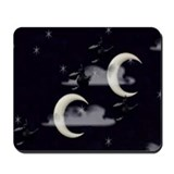 Mousepad witchey moons