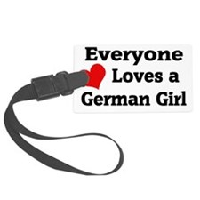 germangirlz Luggage Tag