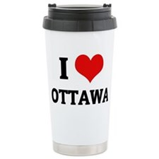 iloveottowa Ceramic Travel Mug