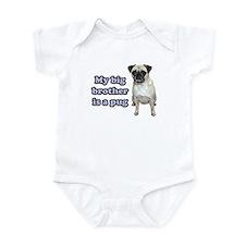 Big Brother Pug Infant Bodysuit