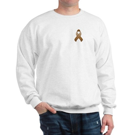 Brown Awareness Ribbon Sweatshirt