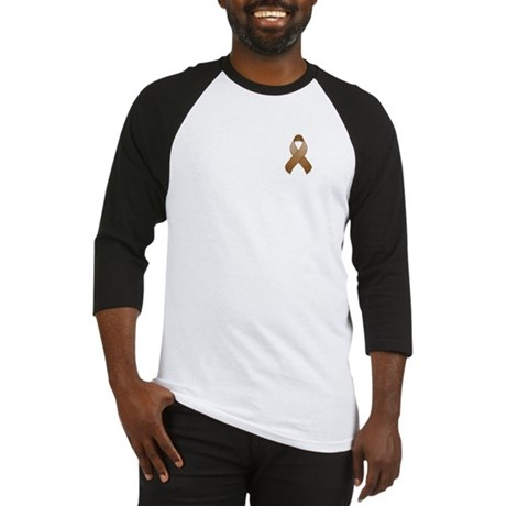 Brown Awareness Ribbon Baseball Jersey