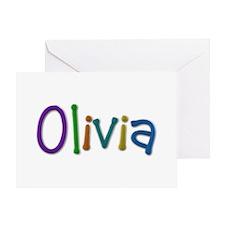 Olivia Play Clay Greeting Card