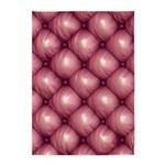 Lounge Leather - Pink 5'x7'Area Rug