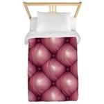 Lounge Leather - Pink Twin Duvet