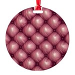 Lounge Leather - Pink Ornament