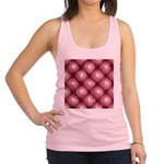 Lounge Leather - Pink Racerback Tank Top