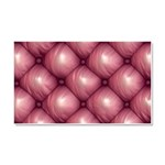 Lounge Leather - Pink Car Magnet 20 x 12