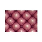 Lounge Leather - Pink Rectangle Magnet (100 pack)