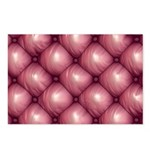 Lounge Leather - Pink Postcards (Package of 8)