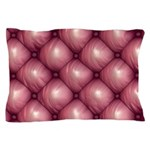 Lounge Leather - Pink Pillow Case