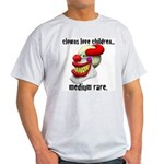 Clowns Love Children Ash Grey T-Shirt