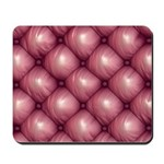 Lounge Leather - Pink Mousepad