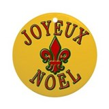 Joyeux Noel New Orleans Christmas Ornament