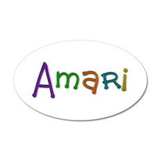 Amari Play Clay 35x21 Oval Wall Decal