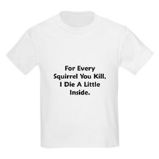 Squirrel Lover Kids T-Shirt