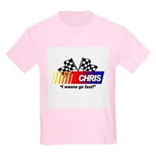 Racing - Chris Kids T-Shirt