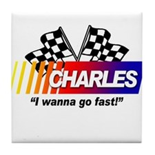 Racing - Charles Tile Coaster