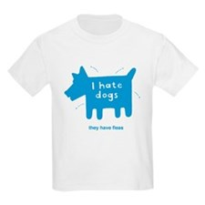 fleabitten dog Kids T-Shirt