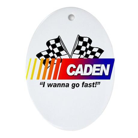Auto Racing Gifts on Auto Racing Gifts   Auto Racing Ornaments   Racing   Caden Oval