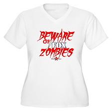 BewareFox.png Plus Size T-Shirt