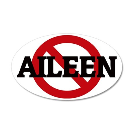 AILEEN 35x21 Oval Wall Decal