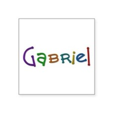 Gabriel Play Clay Square Sticker
