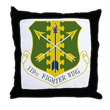 119th FW Throw Pillow