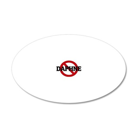 DAPHNE 20x12 Oval Wall Decal