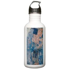 Hassam The Avenue in the Rain Water Bottle