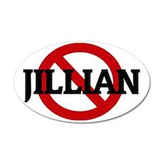 JILLIAN 35x21 Oval Wall Decal