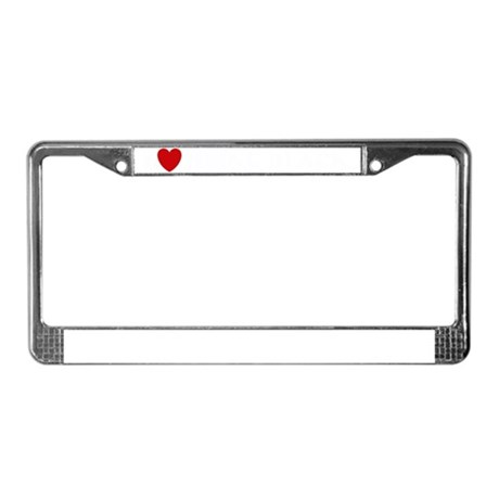 beingblacks-trans License Plate Frame